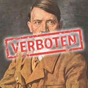 Verbotenes Adolf Hitler Porträt
