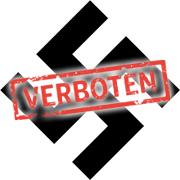 Hakenkreuz verboten