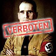 Verbotenes Rudolf Hess Porträtbild