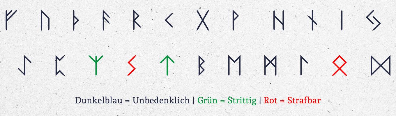Was für Runen sind strafbar