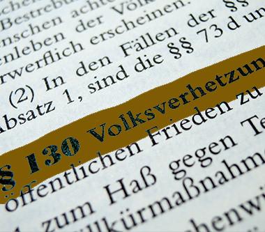 § 130 Strafgesetzbuch