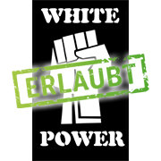 Faust mit White Power